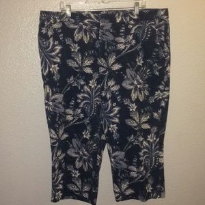 Lauren Ralph Lauren cotton Capri pants